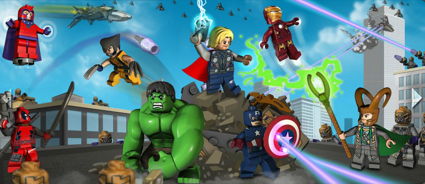Lego Marvel Super Heroes Emo Avatar 2013 Cute Wallpaper